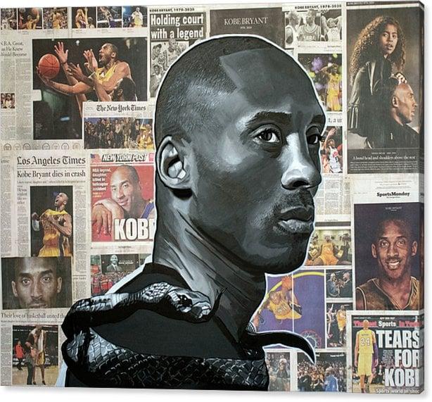 "Image of ""The Black Mamba"" Original Painting"