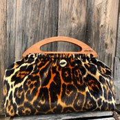 Image of Low & Wide no pocket faux leopard