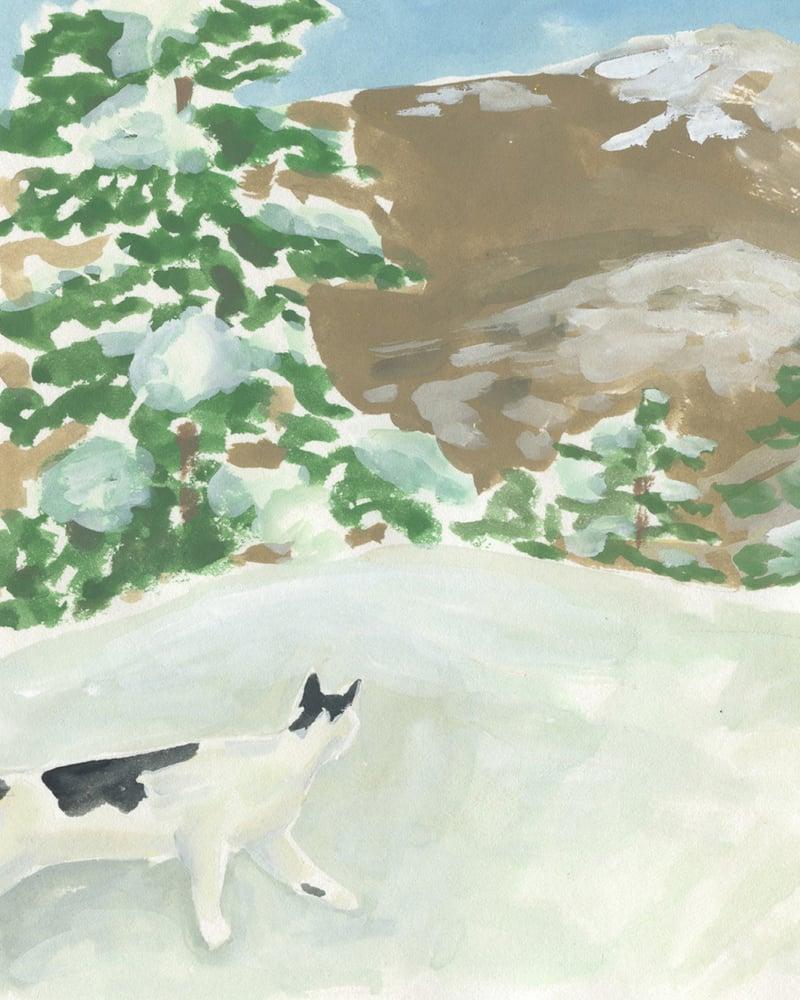 Image of Snow Day 2 - Catlady + OKC Benefit