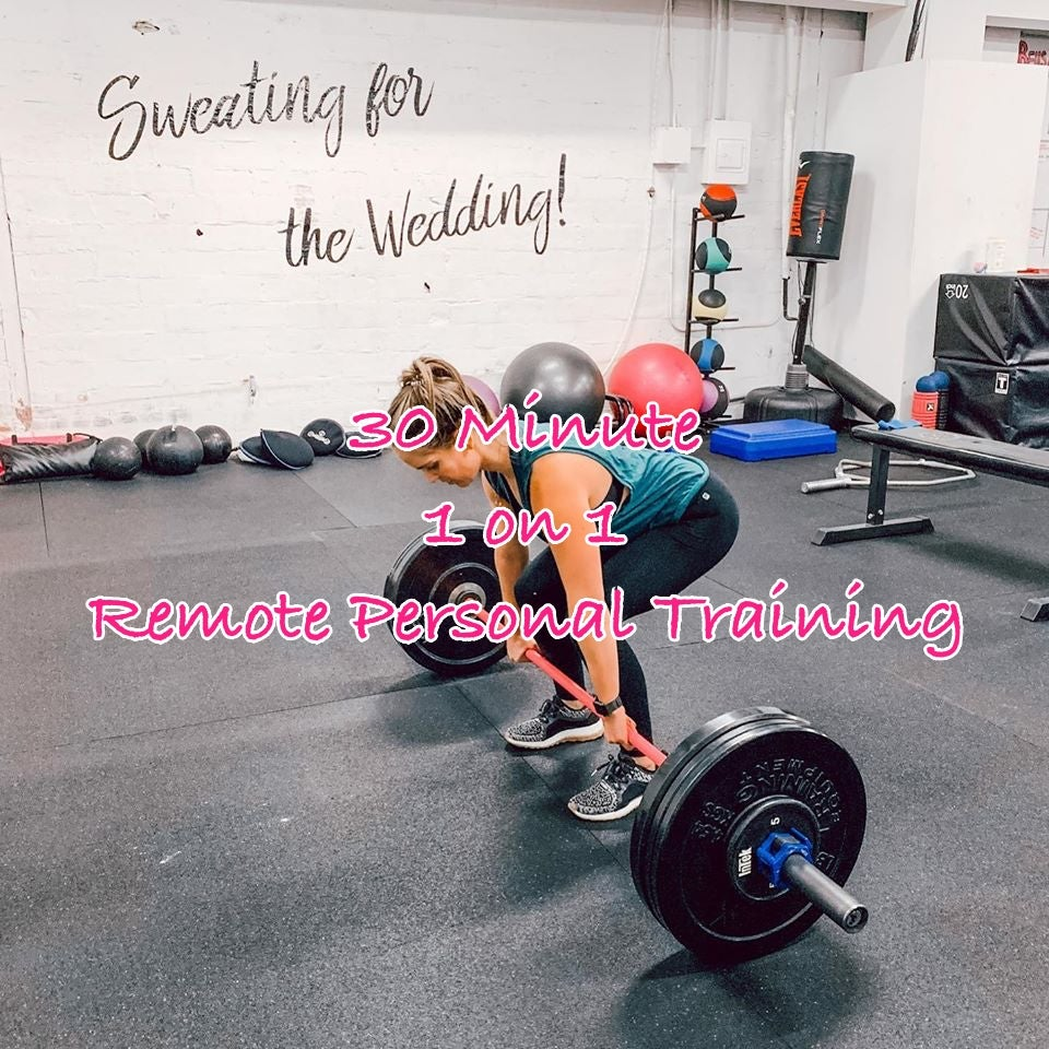 Image of 30 Minute 1:1 Remote Personal Training - As Low As $29 Per Session!