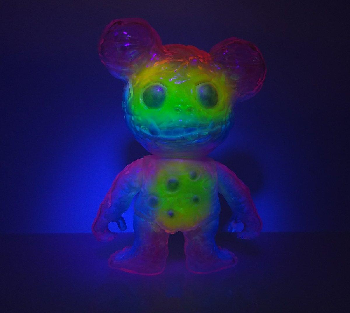 Image of Clear Bruzzy Neon Rainbow II