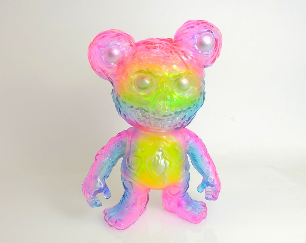 Image of Clear Bruzzy Neon Rainbow II
