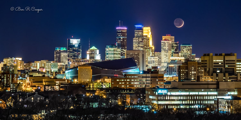 Moon Over Minneapolis #2