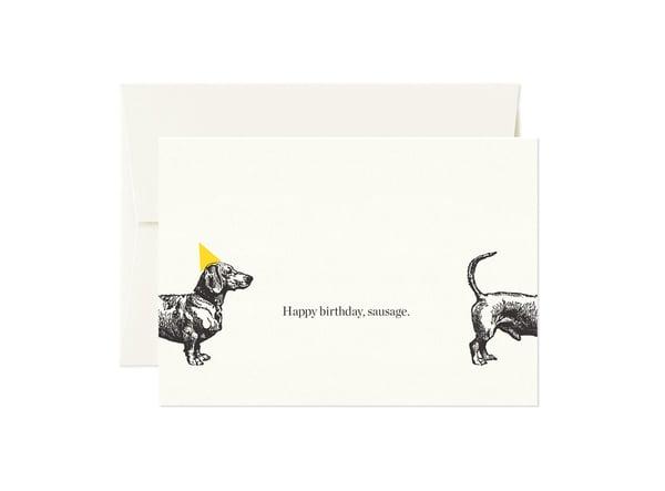 Image of Happy Birthday Sausage