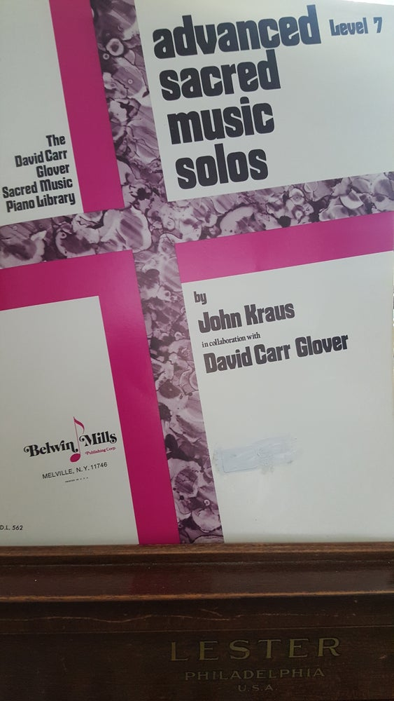 Image of Advanced Sacred Music Solos (piano)