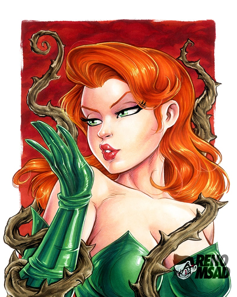 Image of POISON IVY 11X14