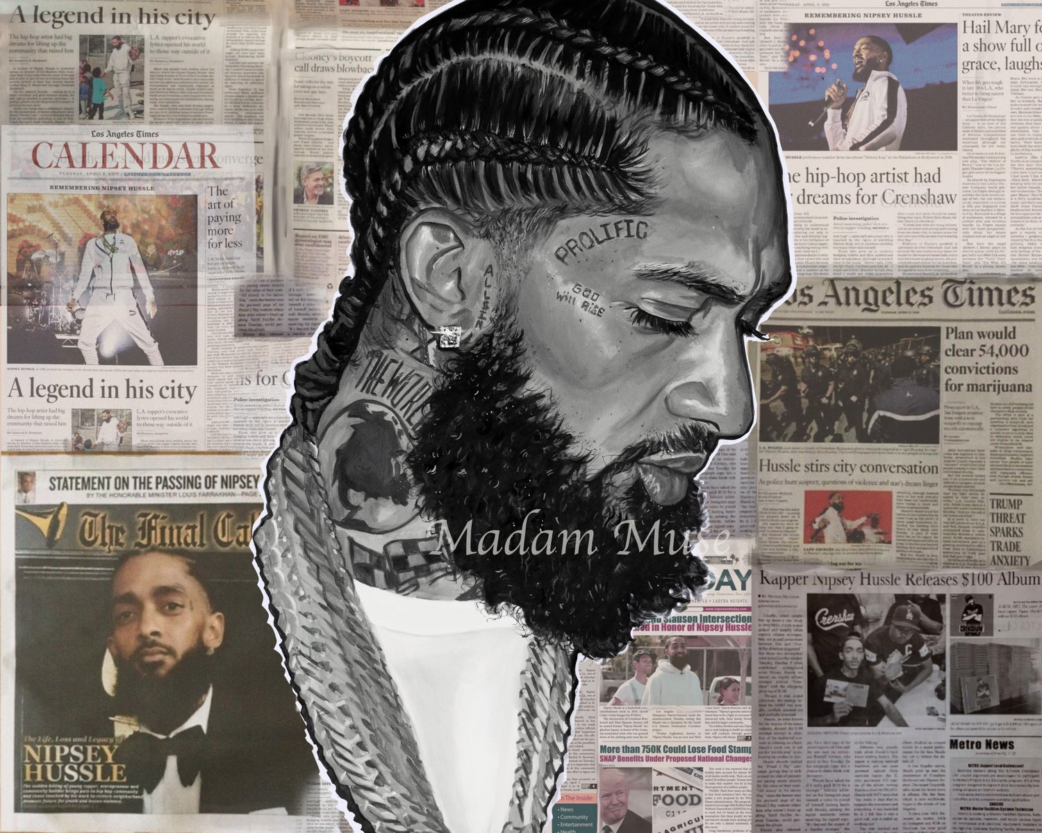 "Image of ""Nipsey"" Limited Edition Prints"