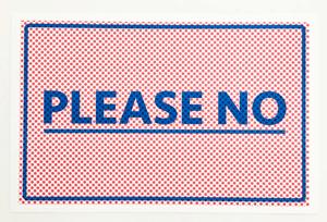 Image of NO Prints