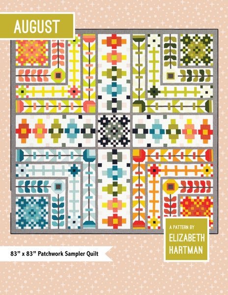 Image of AUGUST pdf quilt pattern