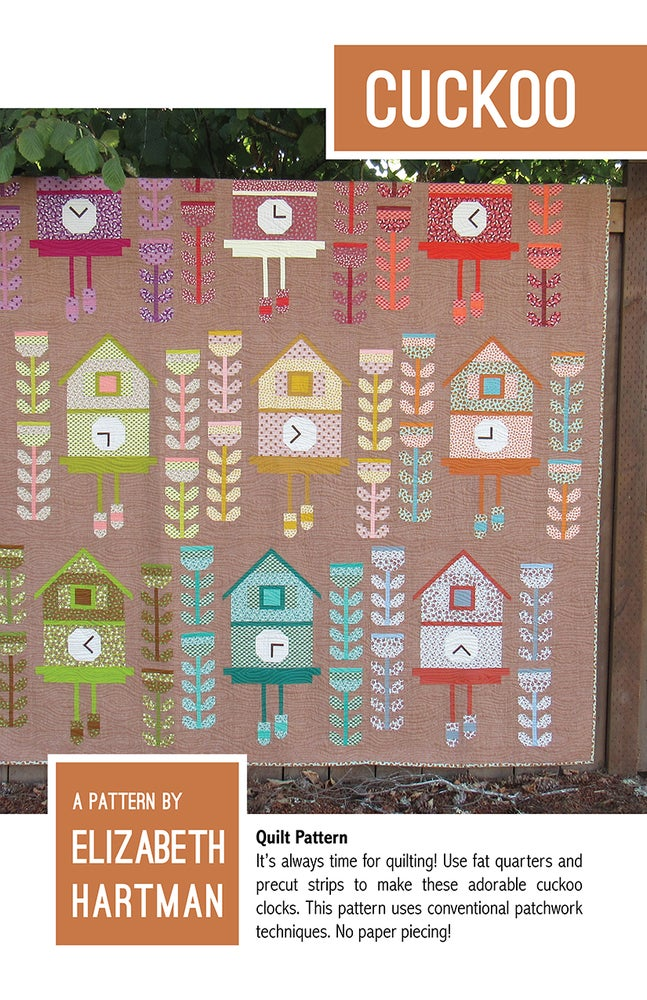 Image of CUCKOO pdf quilt pattern