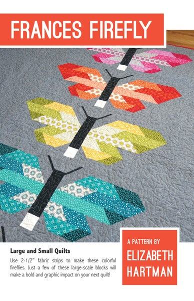 Image of FRANCES FIREFLY pdf quilt pattern