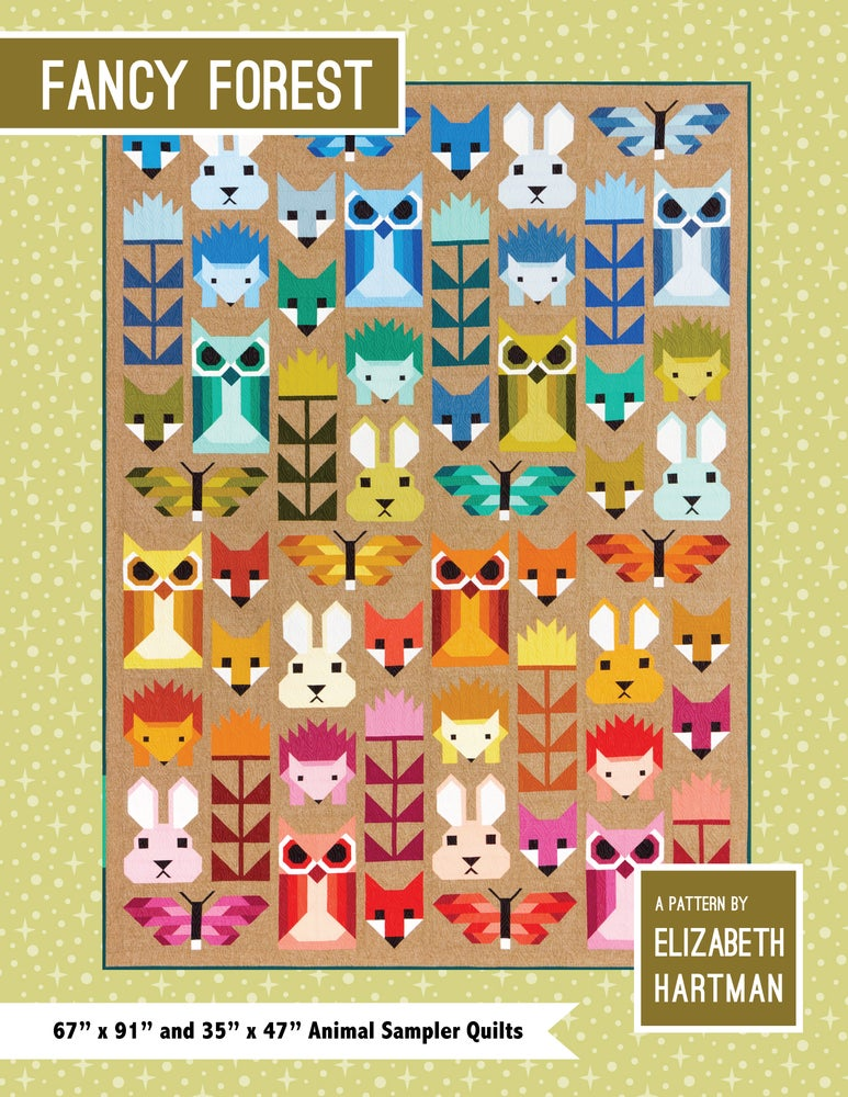 Image of FANCY FOREST pdf quilt pattern