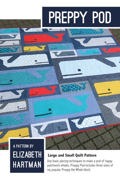 Image of PREPPY POD pdf quilt pattern
