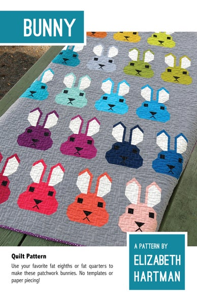 Image of BUNNY pdf quilt pattern