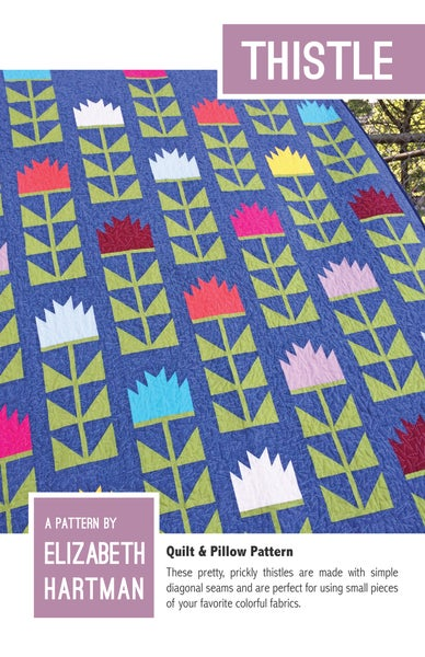 Image of THISTLE pdf quilt pattern