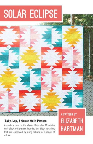 Image of SOLAR ECLIPSE pdf quilt pattern