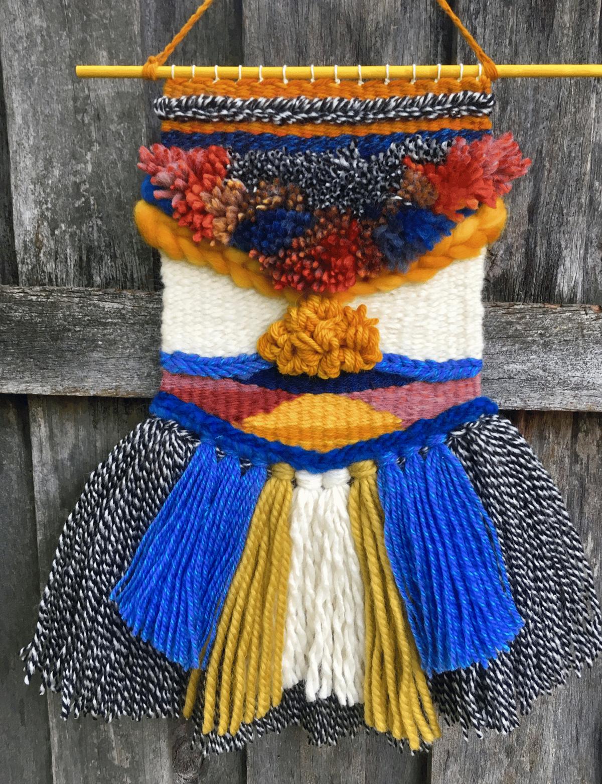 Tribal Woven Wall Hanging