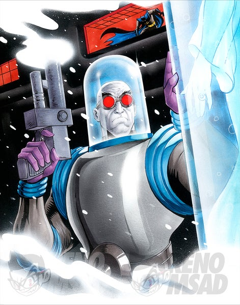 Image of MR FREEZE 11x14