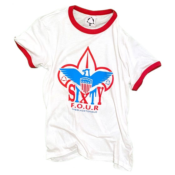 Image of SIXTY F.O.U.R SCOUT RINGER TEE