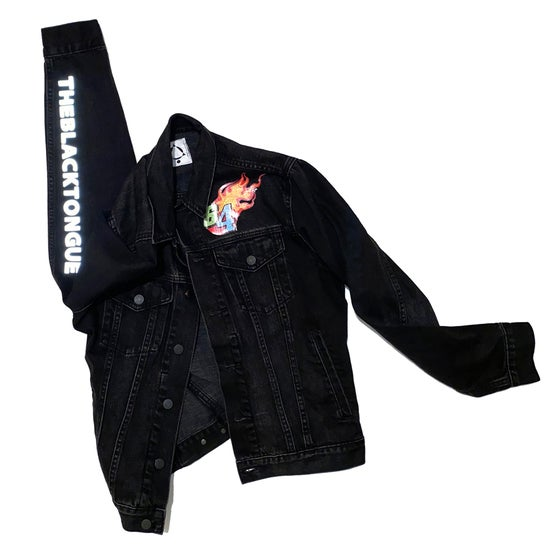 Image of 64 RACING DENIM JACKET