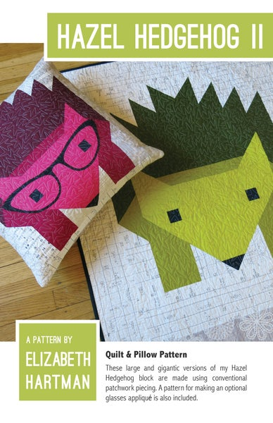 Image of HAZEL HEDGEHOG II pdf quilt pattern