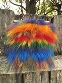 Rainbow Fluffy Blue