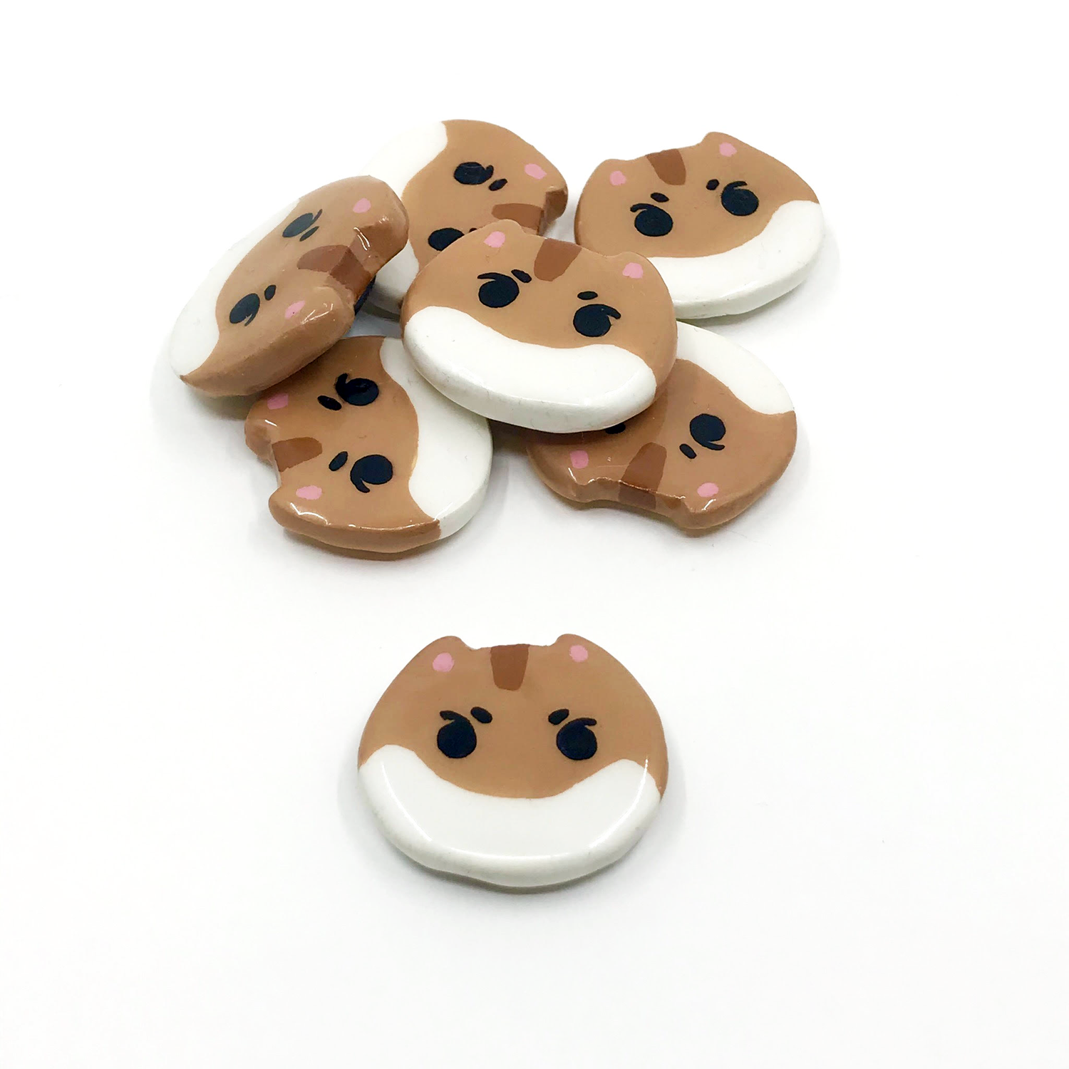 Image of Hamjin Clay Magnets [PRE-ORDER]