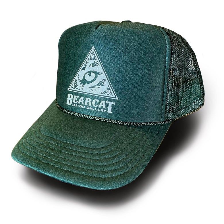Image of Bearcat Trucker Hat in black or forest green