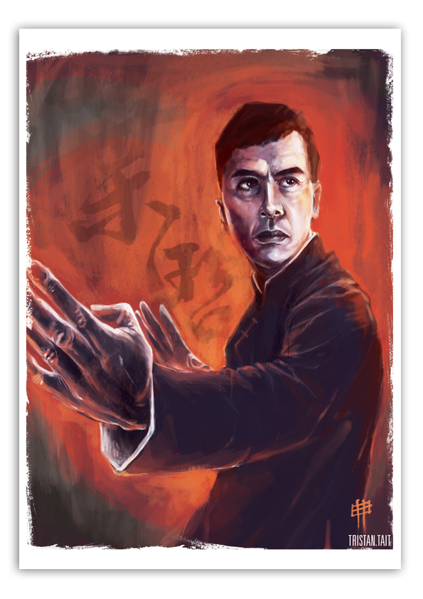 Image of 'Ip Man' - A3 Poster Print