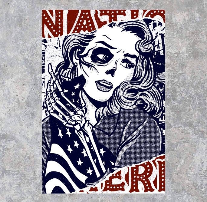 Image of Late Stage Nationalism Paper Print