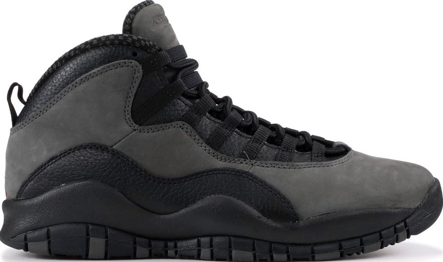 "Image of Nike Retro Air Jordan 10 ""Shadow"" Sz 10"