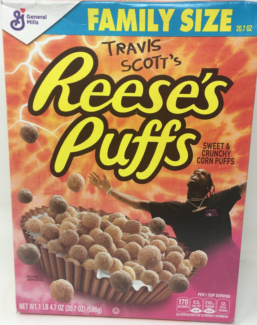 Image of Travis Scott Reeses Puffs