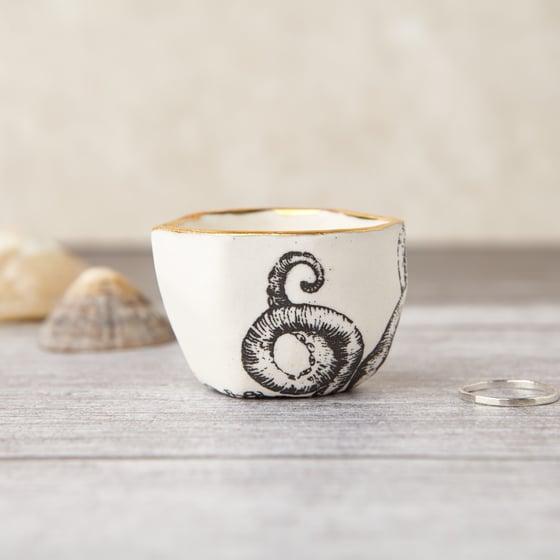 Image of Porcelain Octopus Ring Pot