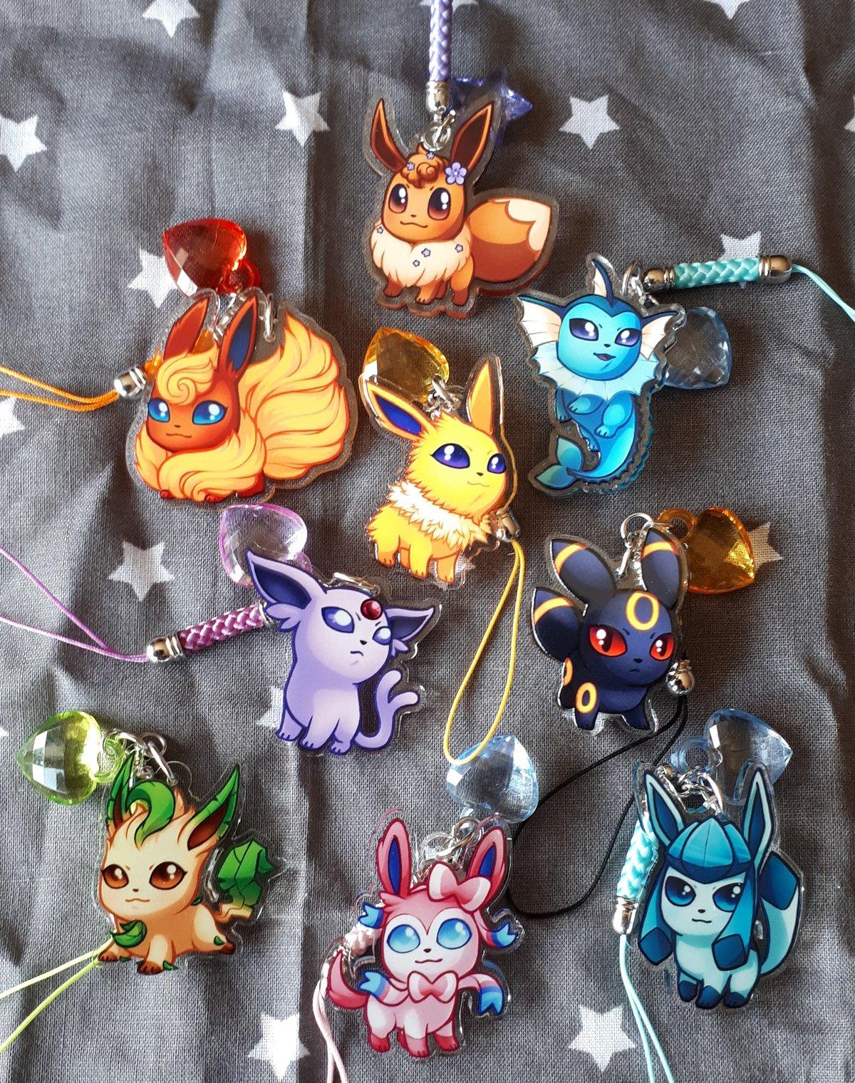 Image of Pokemon Chibis : Acrylic Charms