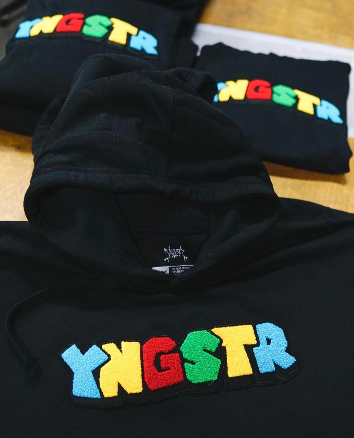 Image of SUPER YNGSTR CHENILLE PATCH HOODY
