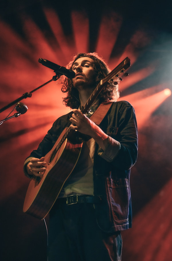 Image of Hozier (during Cherry Wine)