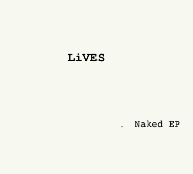 Image of Naked EP - CD
