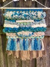 Blue Skies Woven Alpaca Wall Hanging