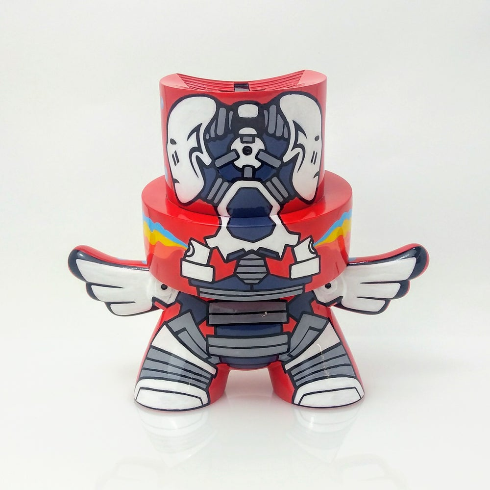 Image of Cybertek Red ZKT Flying Fatcap One Off Custom