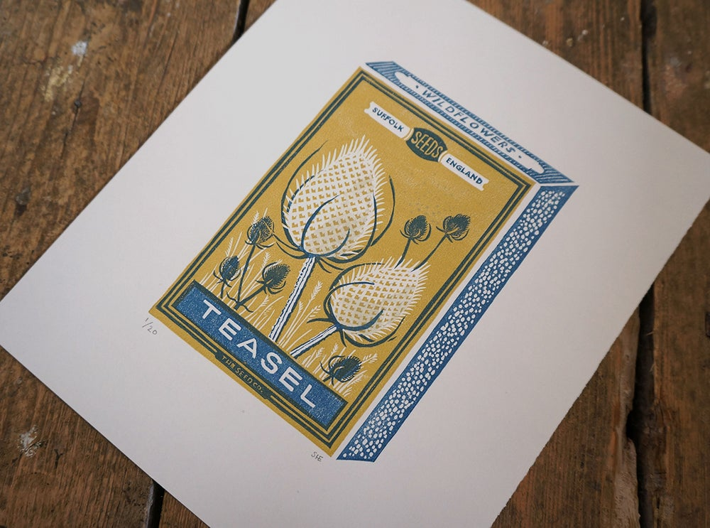 Image of November Print - Teasel