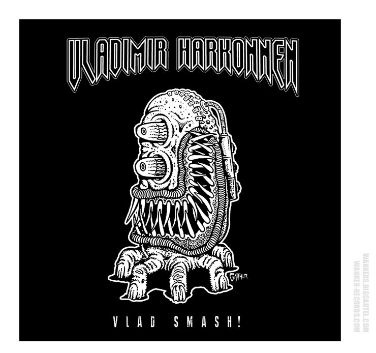 Image of VLADIMIR HARKONNEN - Vlad Smash! CD (Black Edition)
