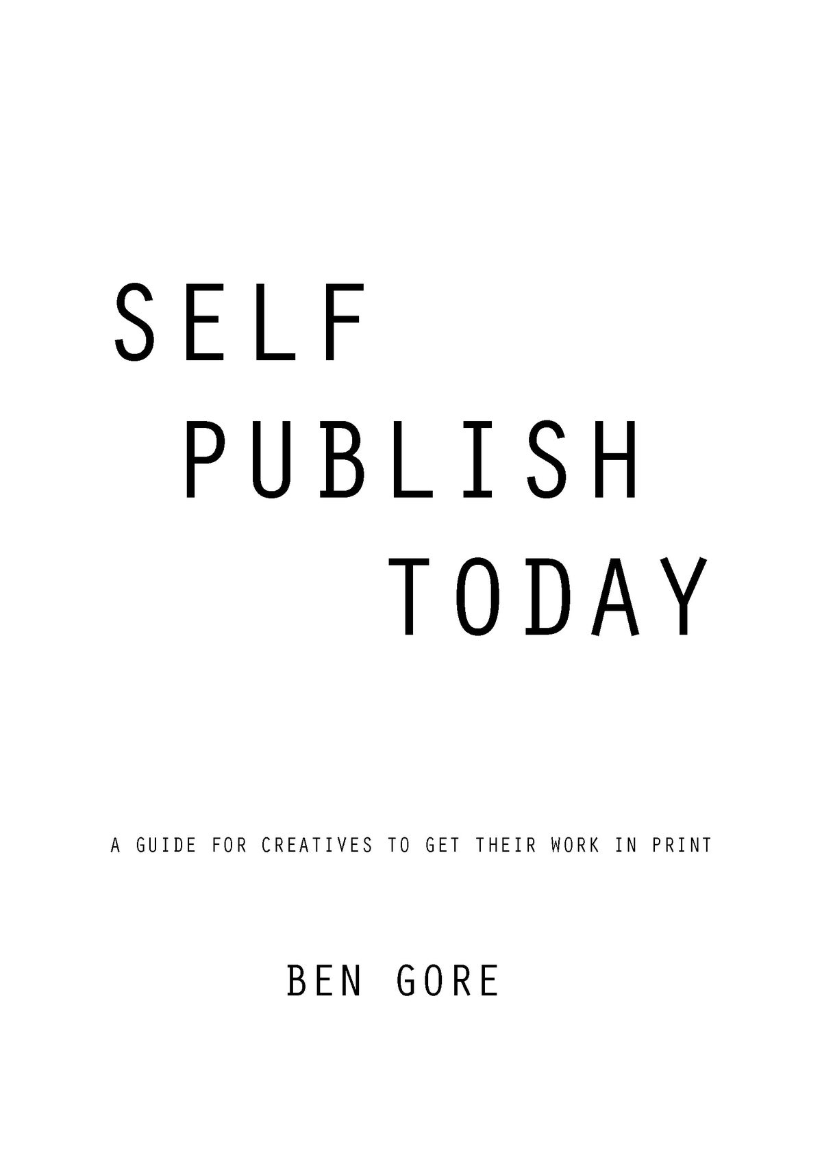 Image of Self Publish Today [digital copy]