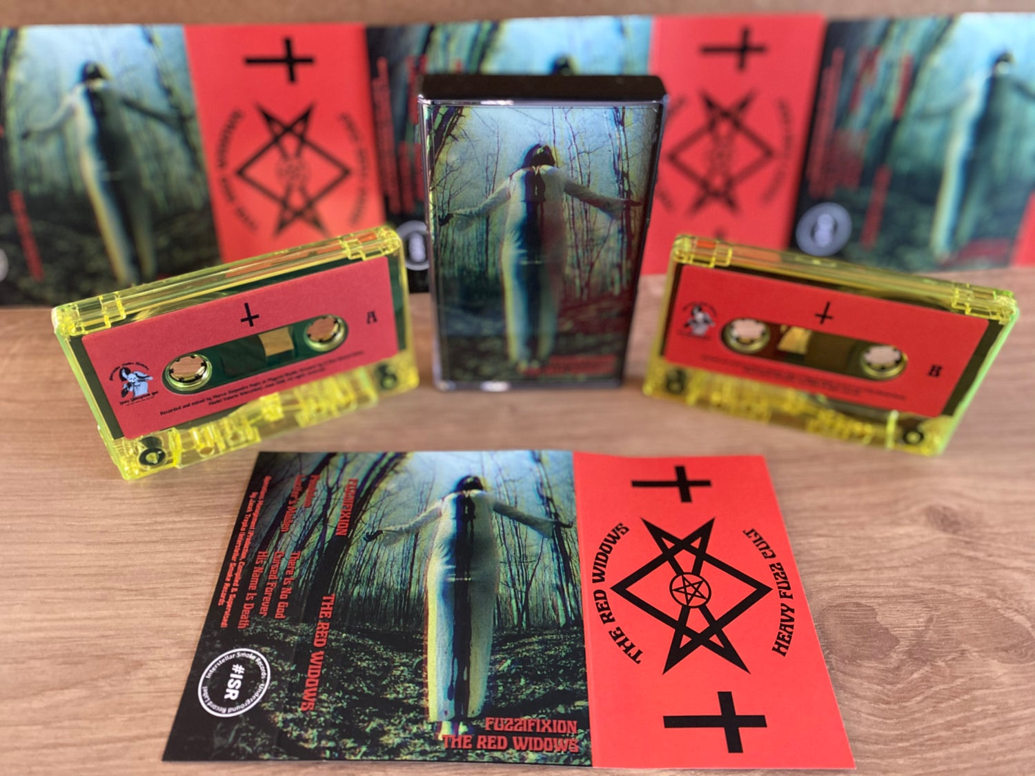 """Image of THE RED WIDOWS """"Fuzzifixion"""" Tapes Edition"""