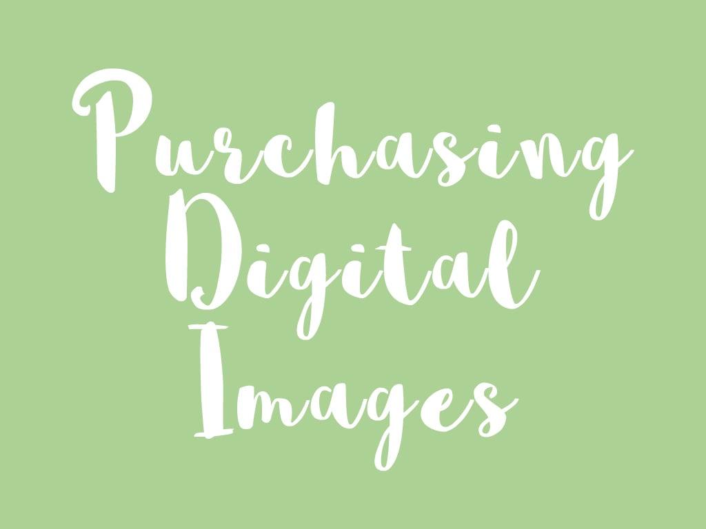 Image of Purchasing Individual Digital Images