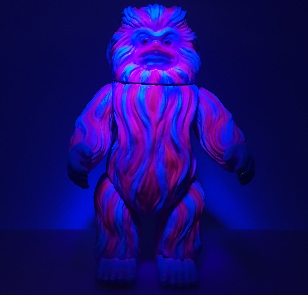 Image of M1go Woo Pink/Blue Neon One Off custom