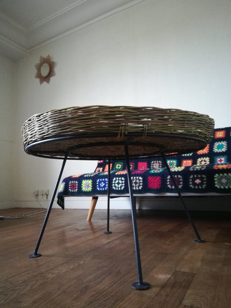 Image of Table cocktail style années 60