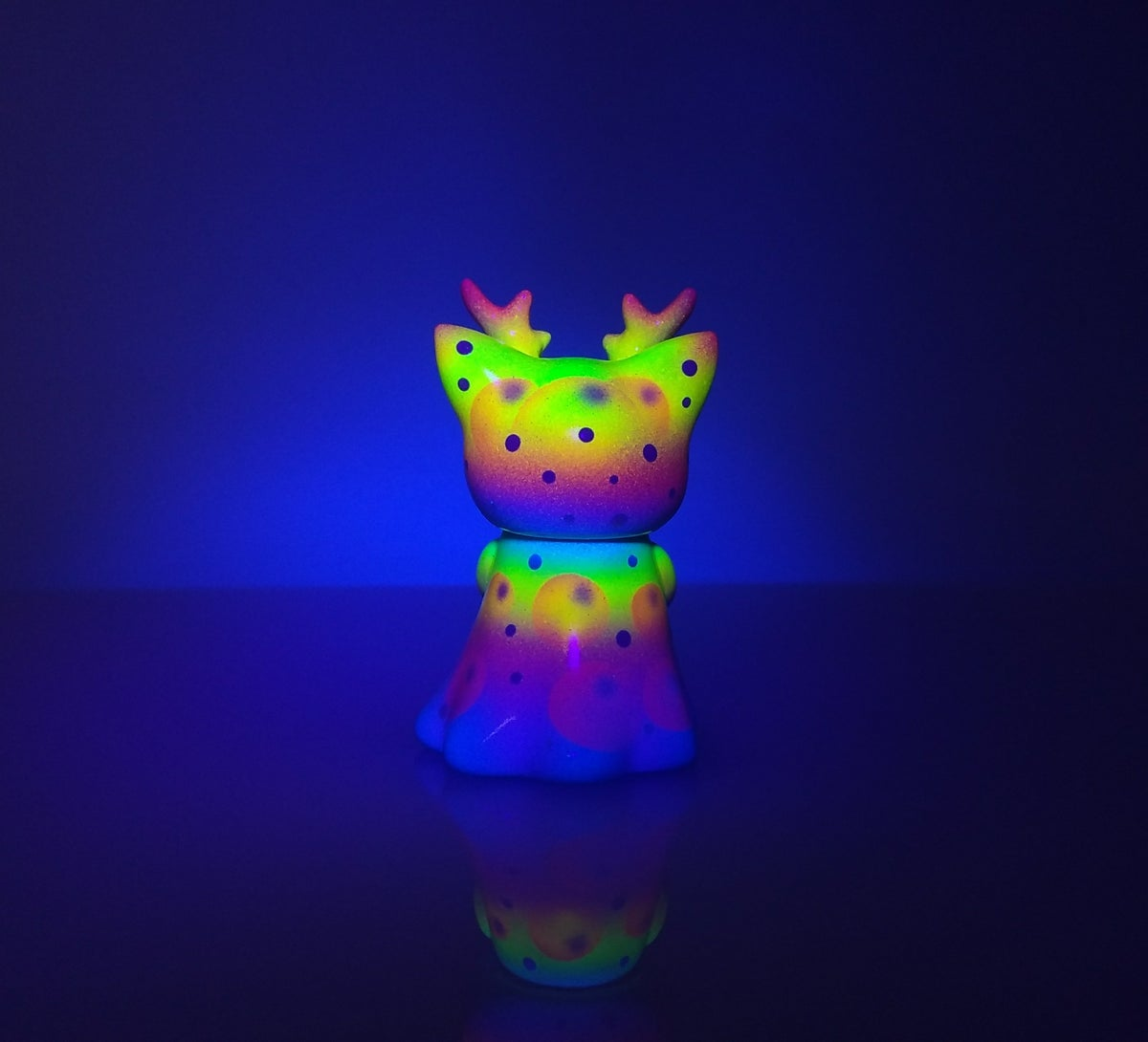 Image of Neon Bubbles Ghost Morris Custom