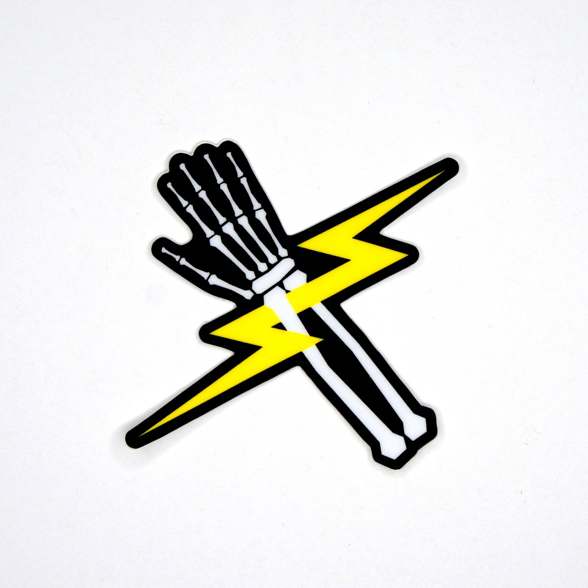 Lighting Bones Sticker