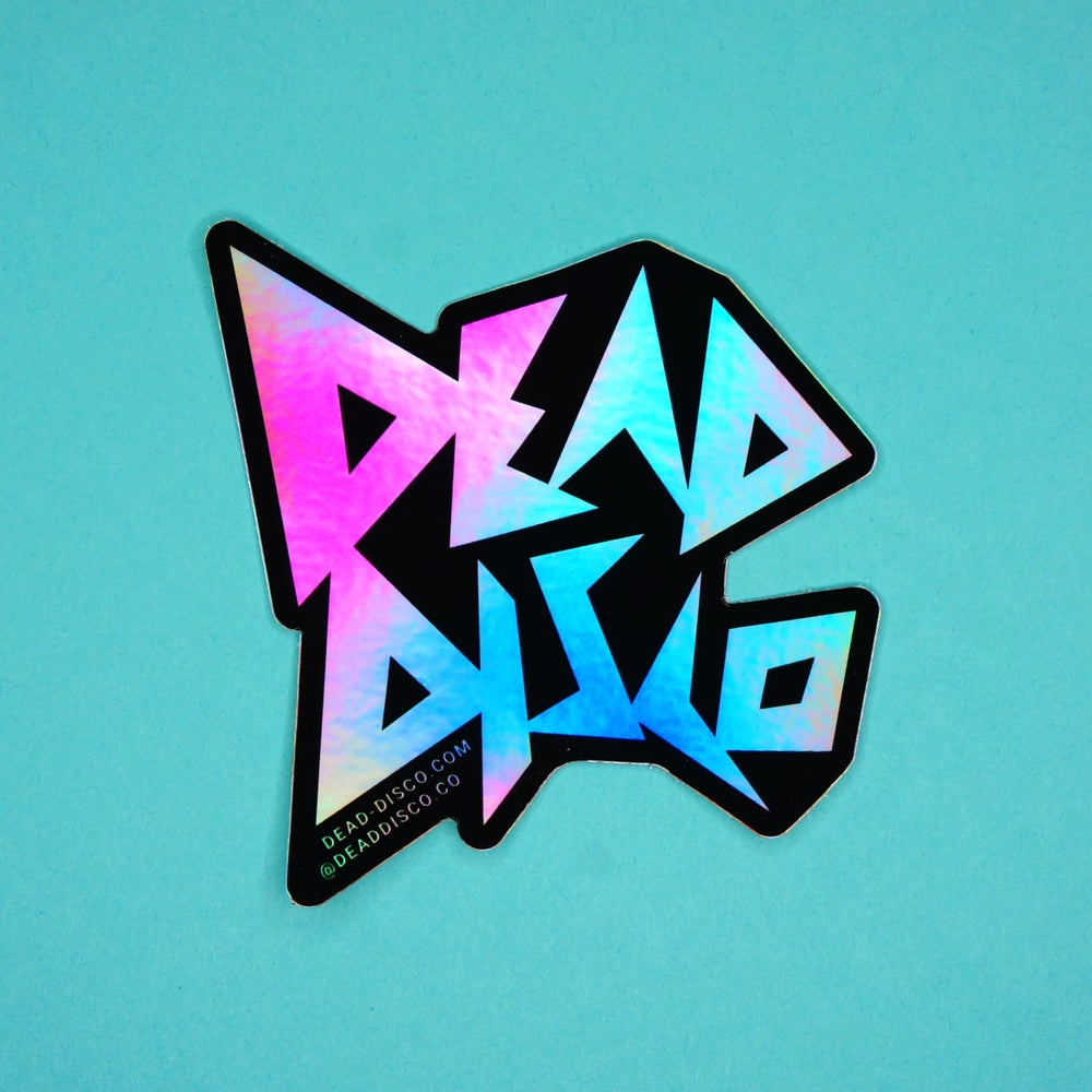 Image of Holographic Dead Disco Sticker