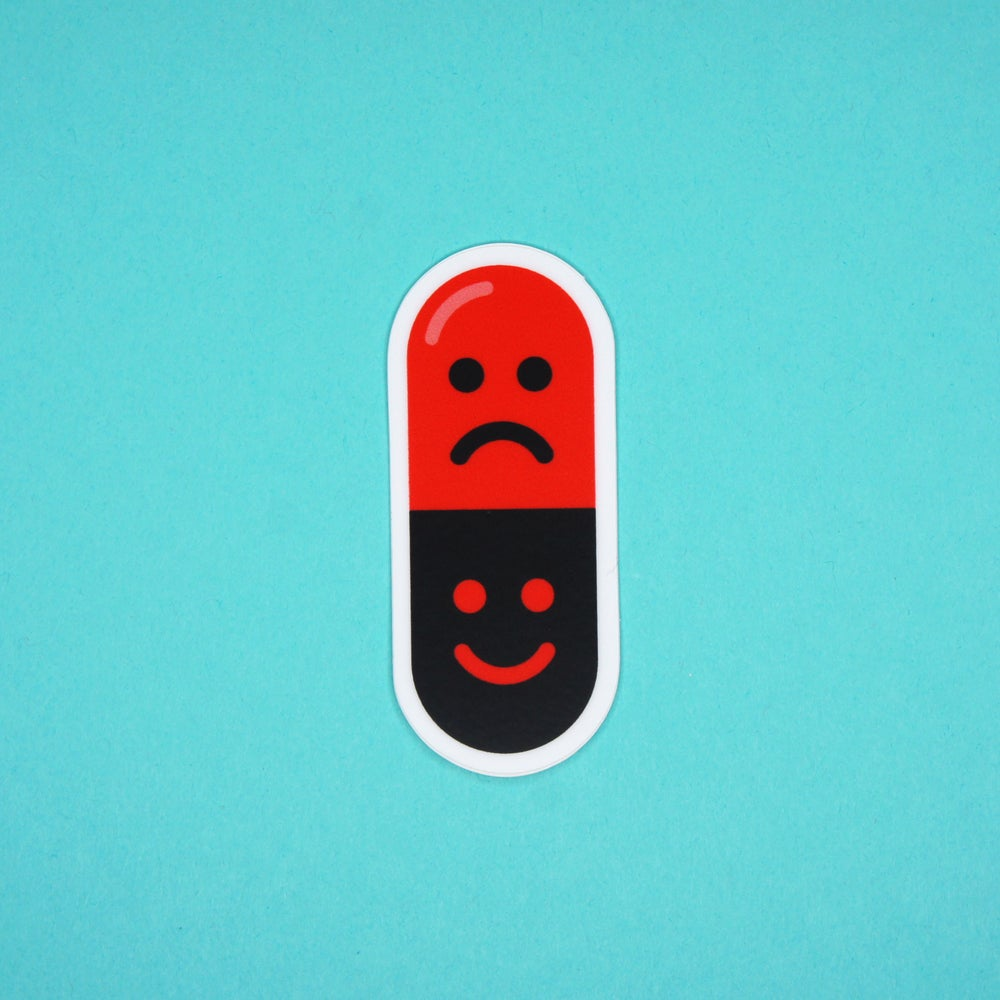 Image of Mood Swing Pill Sticker